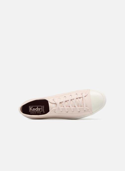 Sneakers Keds Triple Kick Colorblock Roze links