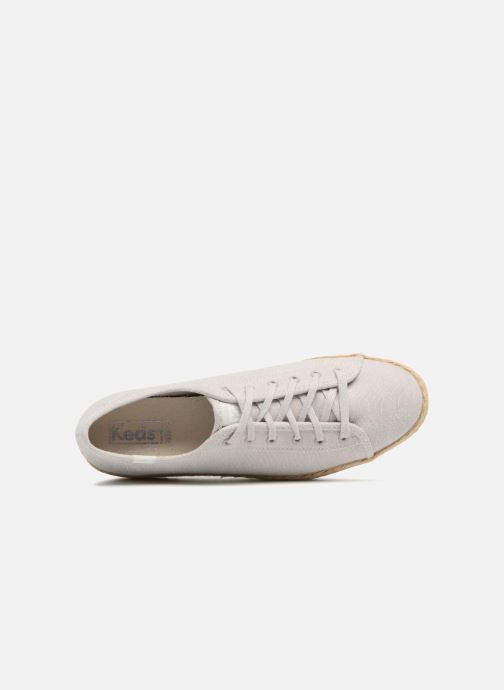Sneakers Keds Triple Kick Jute Grigio immagine sinistra