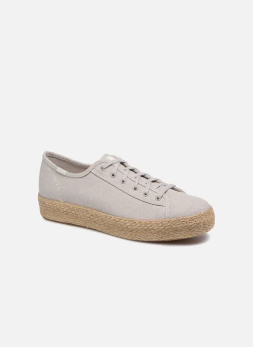 Sneaker Keds Triple Kick Jute grau detaillierte ansicht/modell