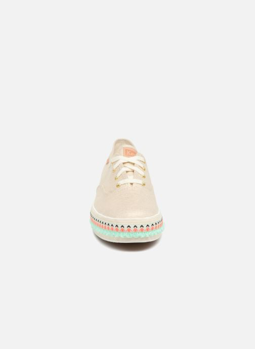 Sneakers Keds Triple Hula Foxing Beige model