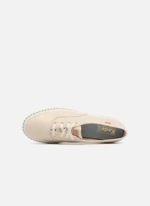 Sneakers Keds Triple Hula Foxing Beige links