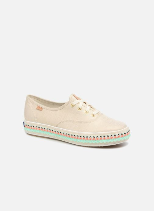 Sneakers Keds Triple Hula Foxing Beige detail