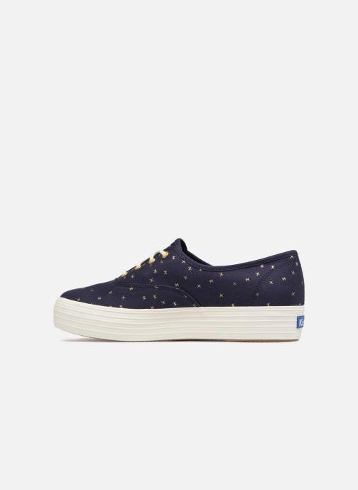 Sneakers Keds Triple Ethereal Blauw voorkant