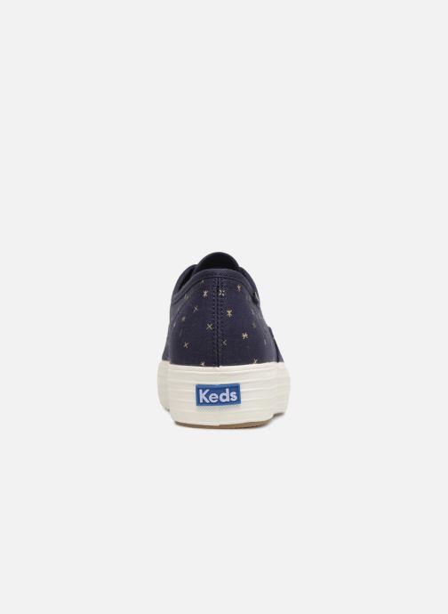 Sneakers Keds Triple Ethereal Blauw rechts