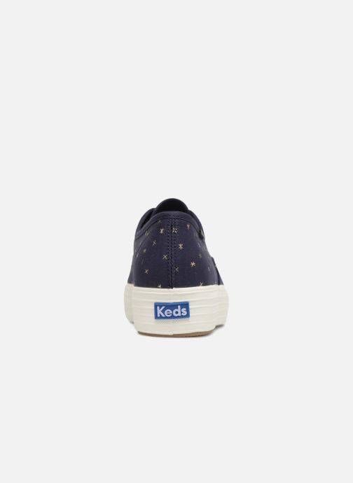 Sneakers Keds Triple Ethereal Blauw rechts