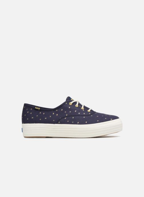 Sneakers Keds Triple Ethereal Blauw achterkant