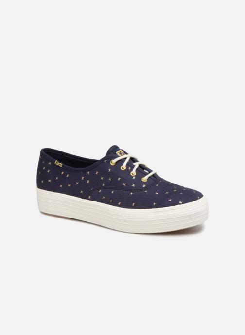 Sneakers Keds Triple Ethereal Blauw detail