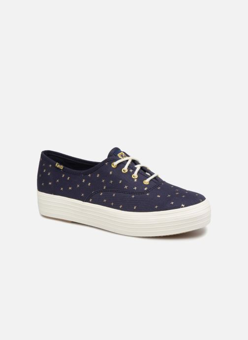 Sneakers Keds Triple Ethereal Blauw detail