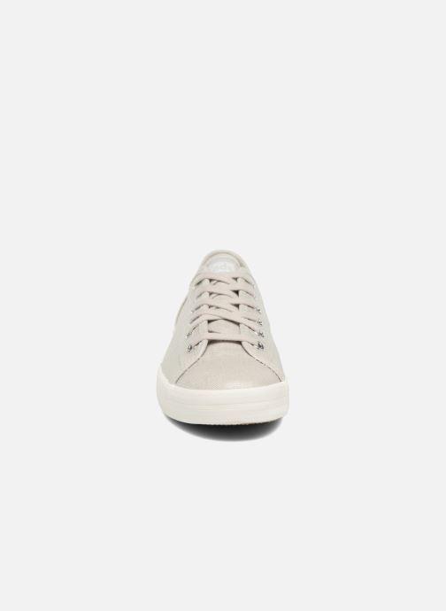 Keds Kickstart Metallic Linen (Grijs) - Sneakers  Grijs (Silver) - schoenen online kopen