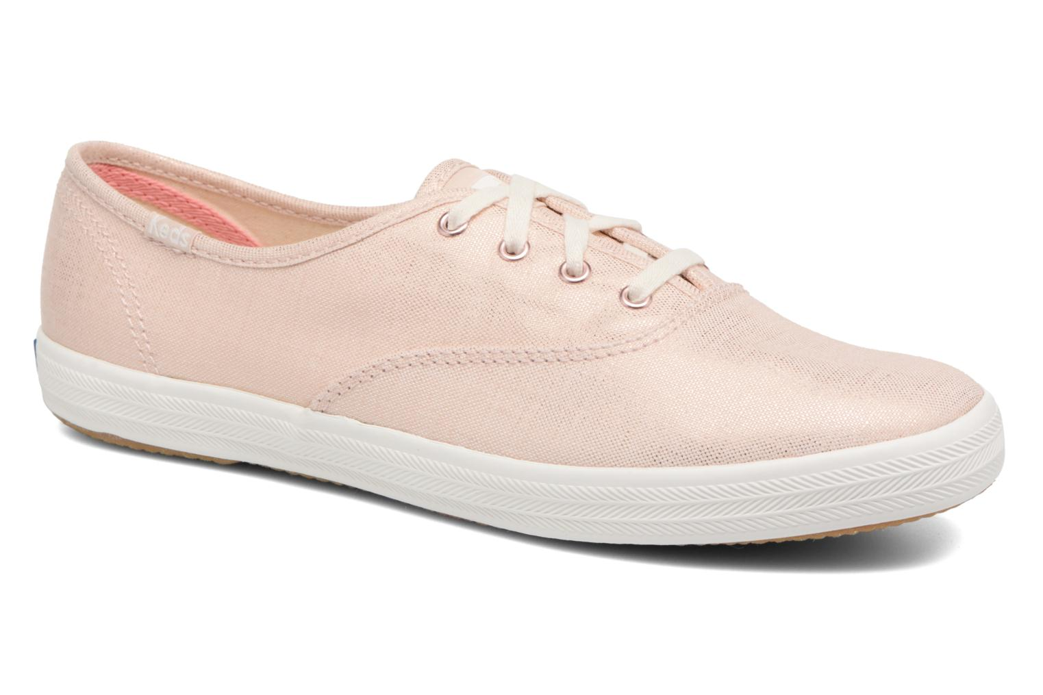29b559cf755 Keds Champion Rose gold Linen Metallic rgrvC41Sq--precede ...