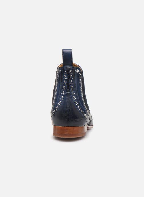 Bottines et boots Melvin & Hamilton Sally 45 Bleu vue droite