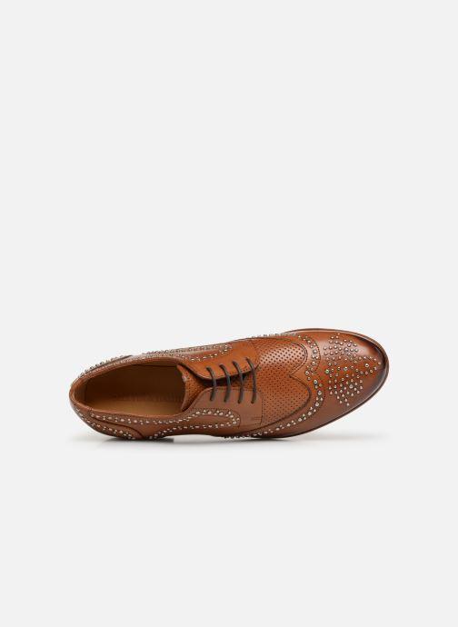 Chaussures à lacets Melvin & Hamilton Sally 53 Marron vue gauche