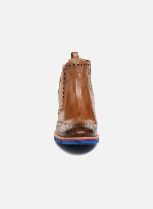 Ankle boots Melvin & Hamilton Amelie 47 Brown model view