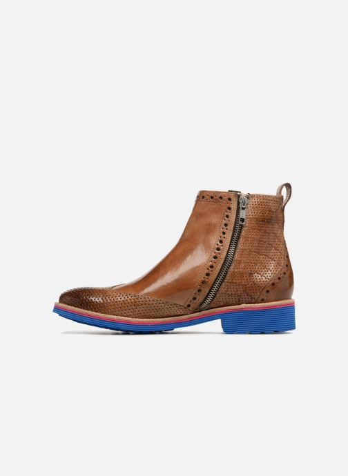 Ankle boots Melvin & Hamilton Amelie 47 Brown front view