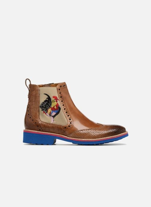 Ankle boots Melvin & Hamilton Amelie 47 Brown back view