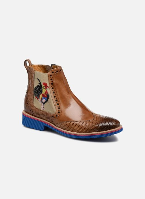 Ankle boots Melvin & Hamilton Amelie 47 Brown detailed view/ Pair view