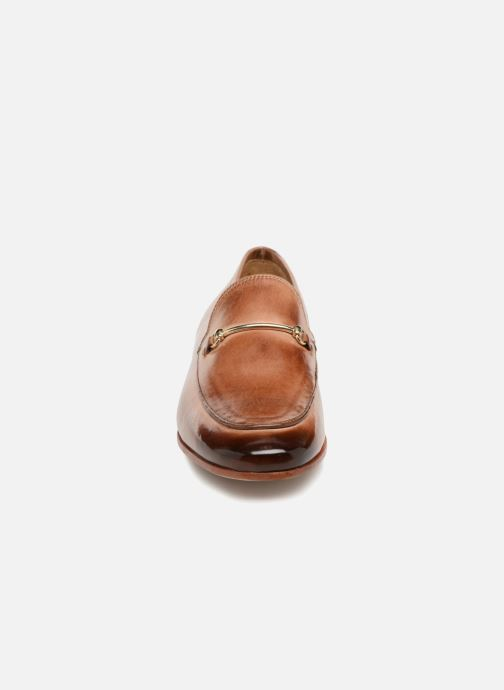 Mocassins Melvin & Hamilton Scarlett 1 Marron vue portées chaussures