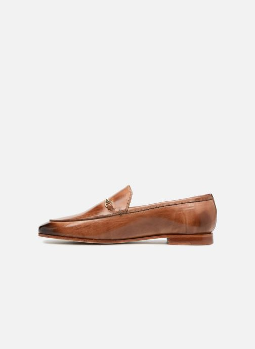 Loafers Melvin & Hamilton Scarlett 1 Brown front view