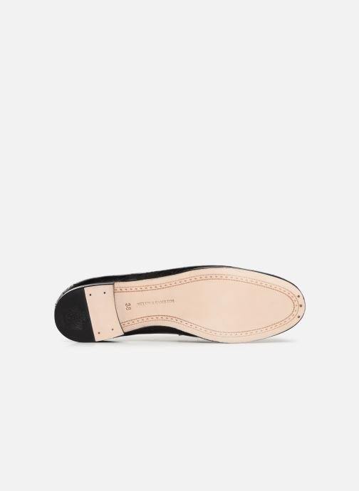 Loafers Melvin & Hamilton Scarlett 1 Black view from above