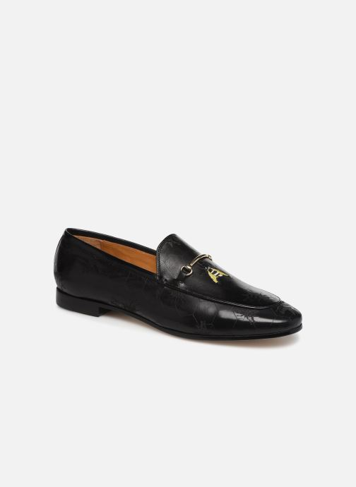 Loafers Melvin & Hamilton Scarlett 1 Black detailed view/ Pair view