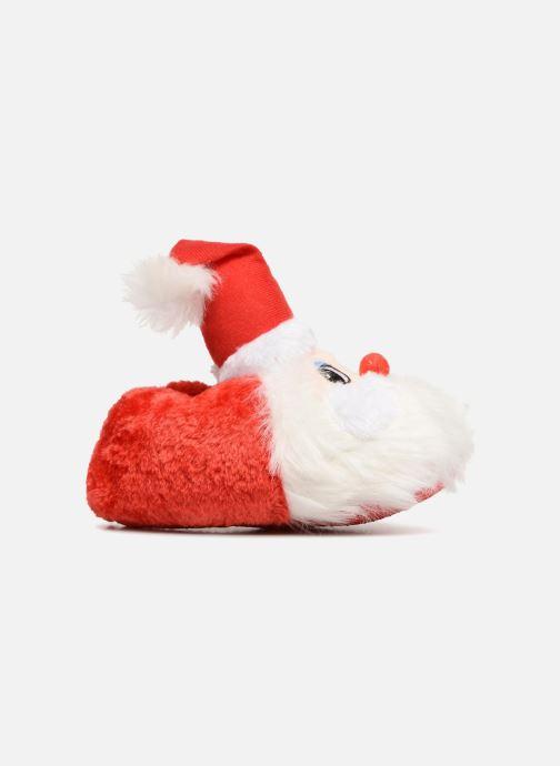 Slippers Sarenza Wear Chaussons Enfant Père Noël Red back view