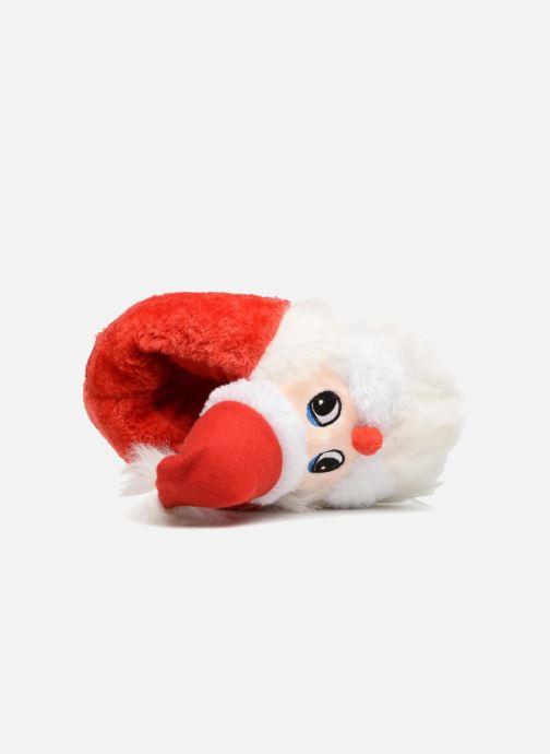 Chaussons Sarenza Wear Chaussons Enfant Père Noël Rouge vue gauche
