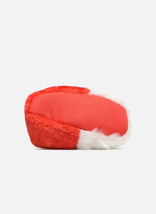 Pantuflas Sarenza Wear Chaussons Enfant Père Noël Rojo vista de arriba
