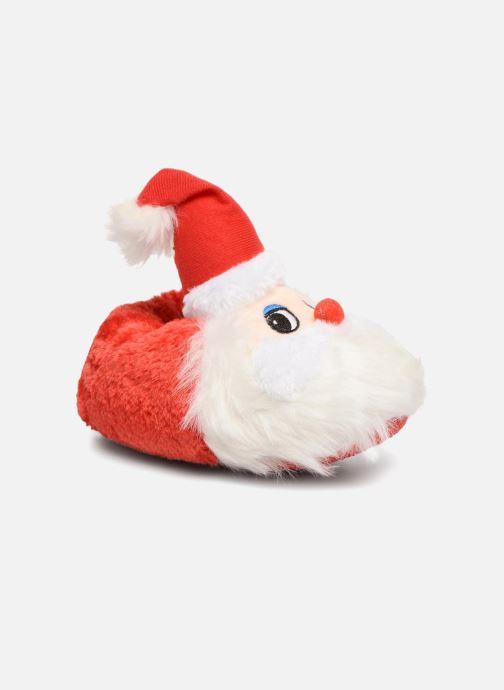 fef9a4b2e1c0c Chaussons Sarenza Wear Chaussons Enfant Père Noël Rouge vue détail paire