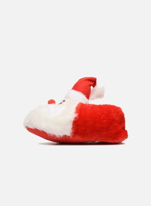 Pantofole Sarenza Wear Chaussons Femme Père Noël Rosso immagine frontale
