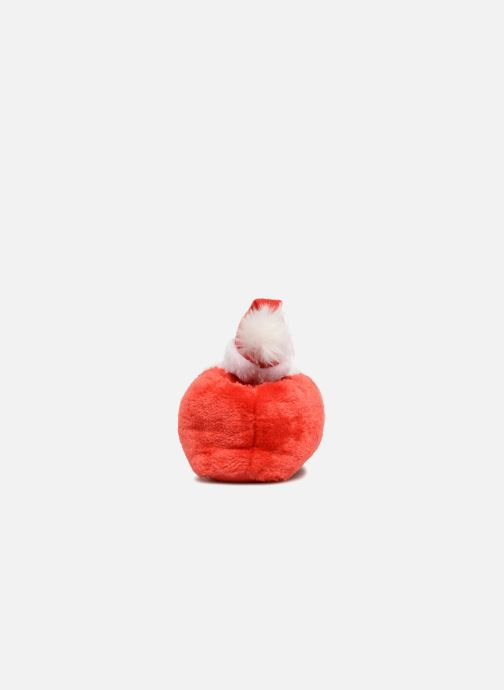 Pantuflas Sarenza Wear Chaussons Femme Père Noël Rojo vista lateral derecha