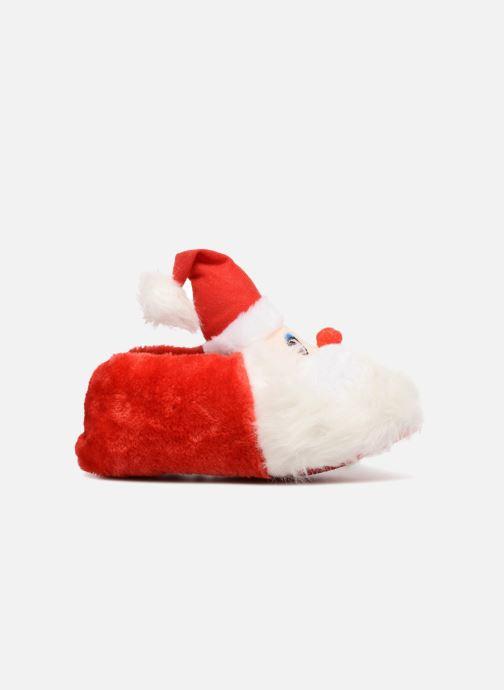 Chaussons Sarenza Wear Chaussons Femme Père Noël Rouge vue derrière