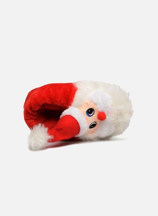 Pantuflas Sarenza Wear Chaussons Femme Père Noël Rojo vista lateral izquierda