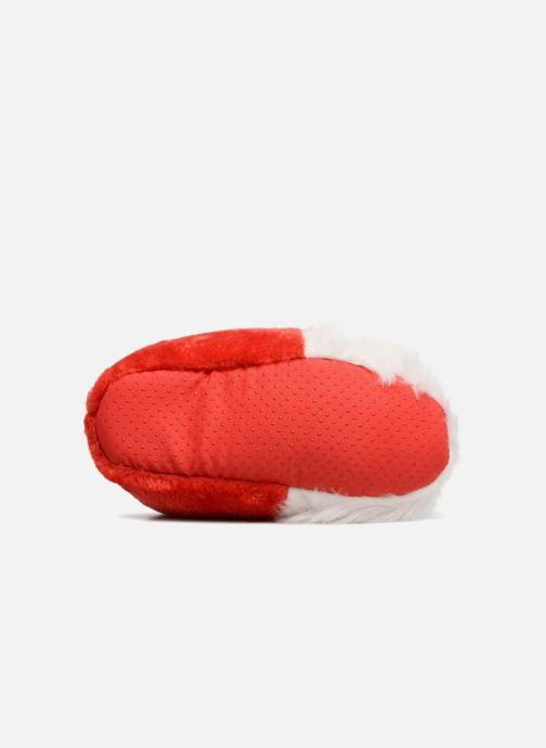 Pantofole Sarenza Wear Chaussons Femme Père Noël Rosso immagine dall'alto