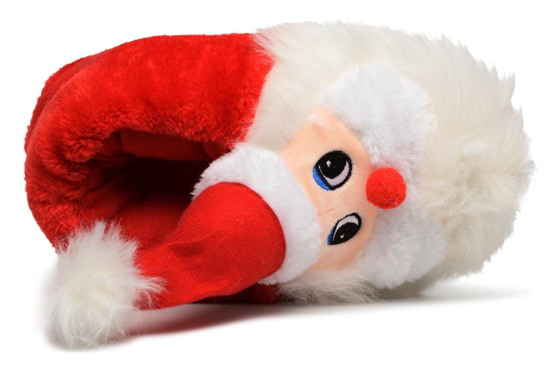 Chaussons Sarenza Wear Chaussons Femme Père Noël Rouge vue gauche