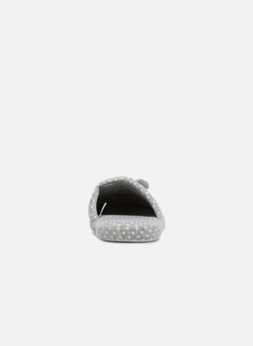 Slippers Sarenza Wear Chaussons Femme Nœuds & Poids Grey view from the right