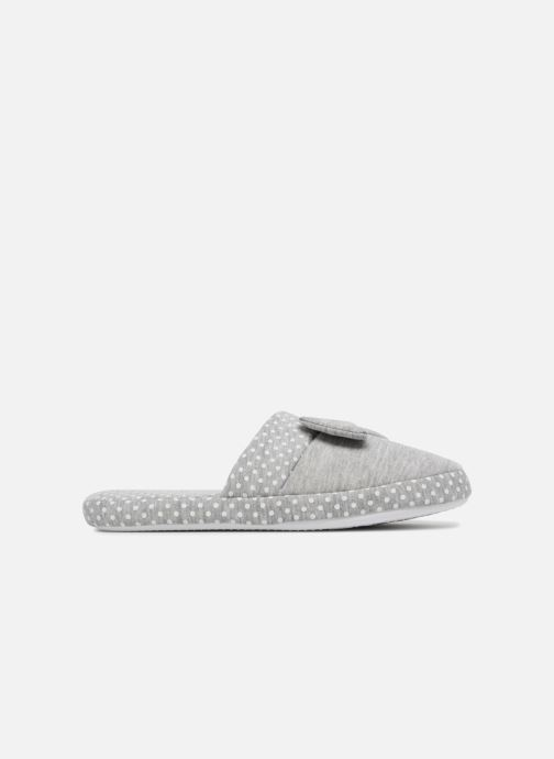 Slippers Sarenza Wear Chaussons Femme Nœuds & Poids Grey back view