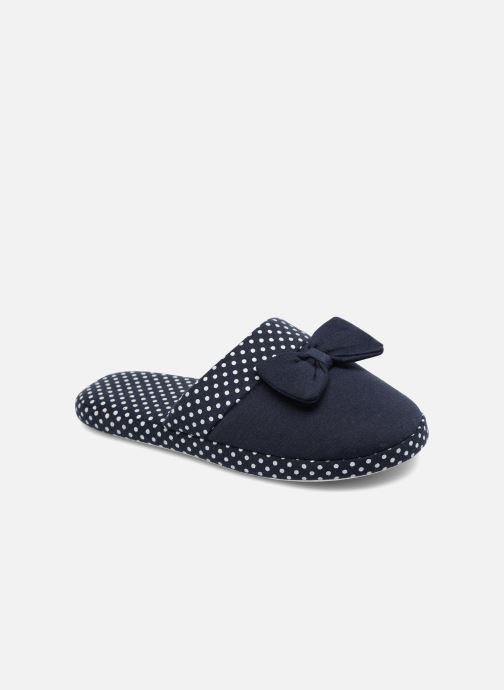 Hjemmesko Sarenza Wear Chaussons Femme Nœuds & Poids Blå detaljeret billede af skoene