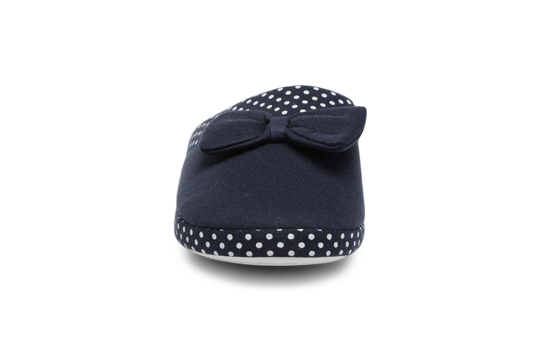 Chaussons Sarenza Wear Chaussons Femme Nœuds & Poids Bleu vue portées chaussures