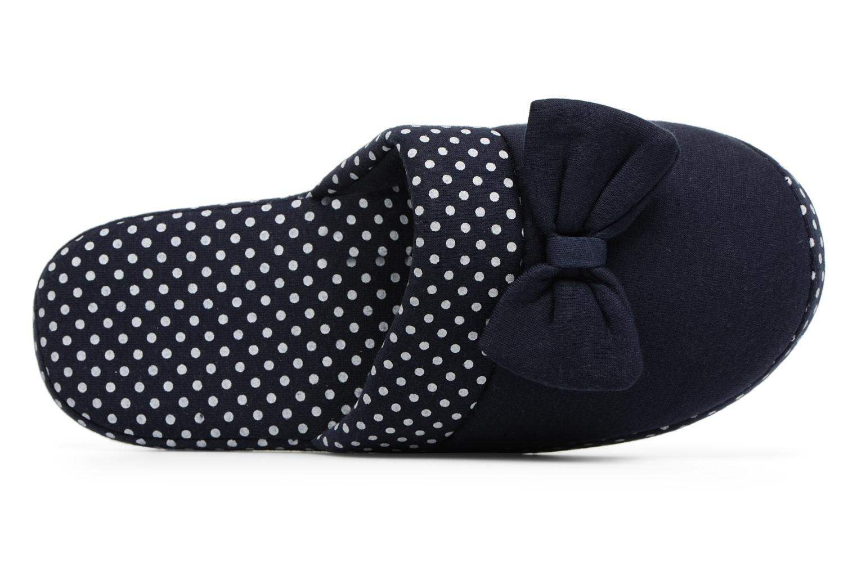 Chaussons Sarenza Wear Chaussons Femme Nœuds & Poids Bleu vue gauche