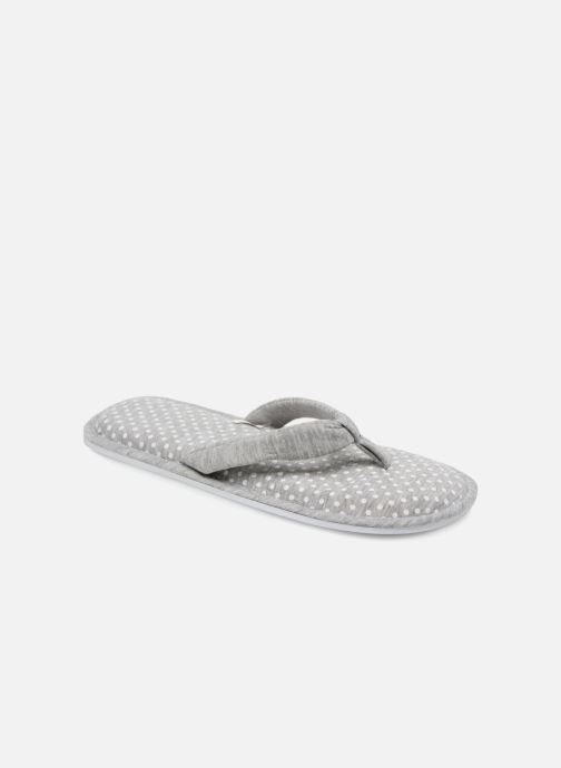 Hjemmesko Sarenza Wear Chaussons Mules Femme Pois Grå detaljeret billede af skoene