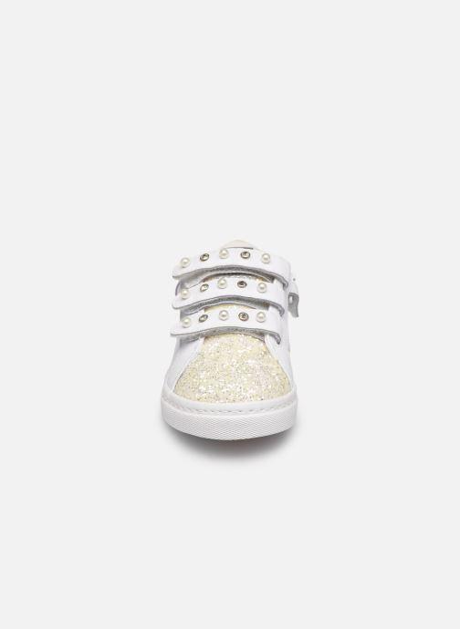 Baskets Gioseppo Milena Blanc vue portées chaussures