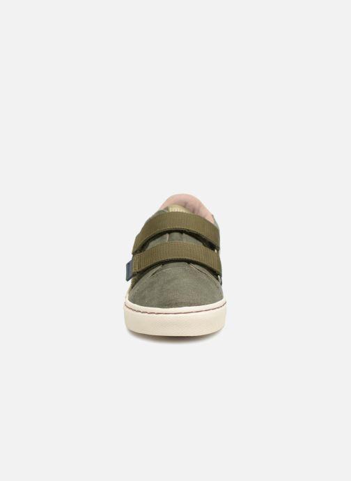Baskets Gioseppo Felix Vert vue portées chaussures