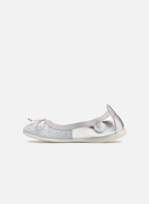 Ballet pumps Gioseppo Serena Silver front view