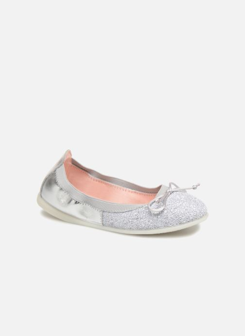 Ballet pumps Gioseppo Serena Silver detailed view/ Pair view
