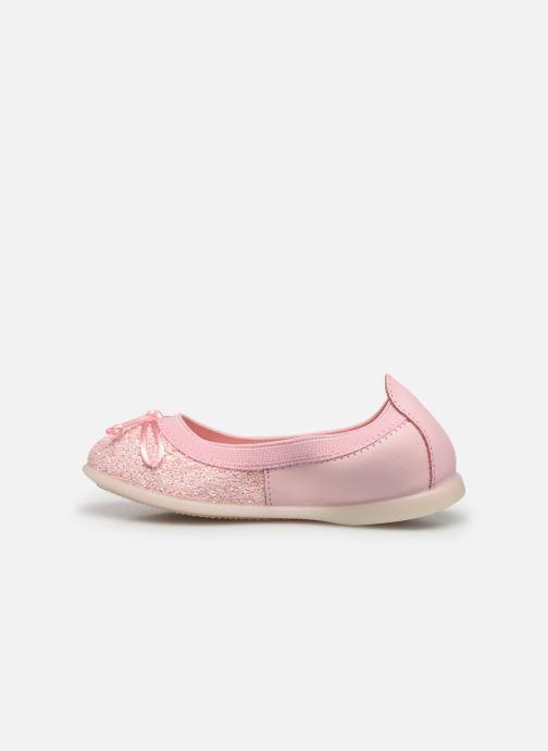 Ballerinas Gioseppo Serena rosa ansicht von vorne