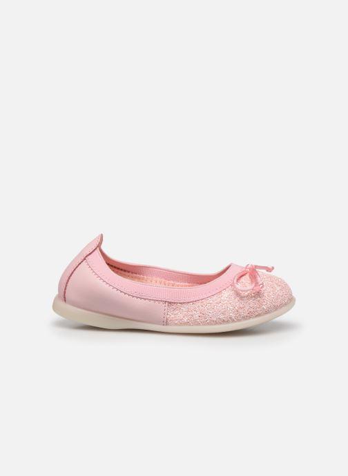 Ballerinas Gioseppo Serena rosa ansicht von hinten