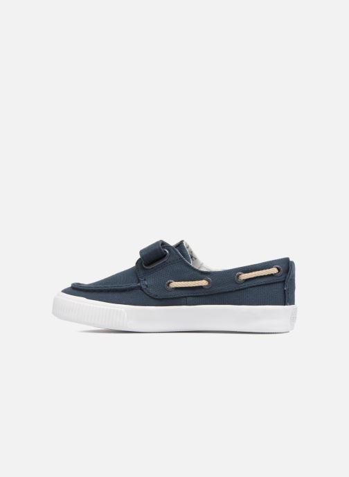 Zapatos con velcro Gioseppo Enzo Azul vista de frente