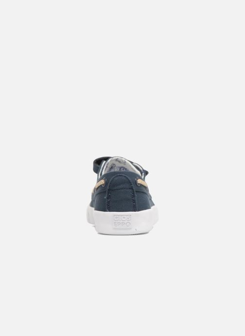 Chaussures à scratch Gioseppo Enzo Bleu vue droite