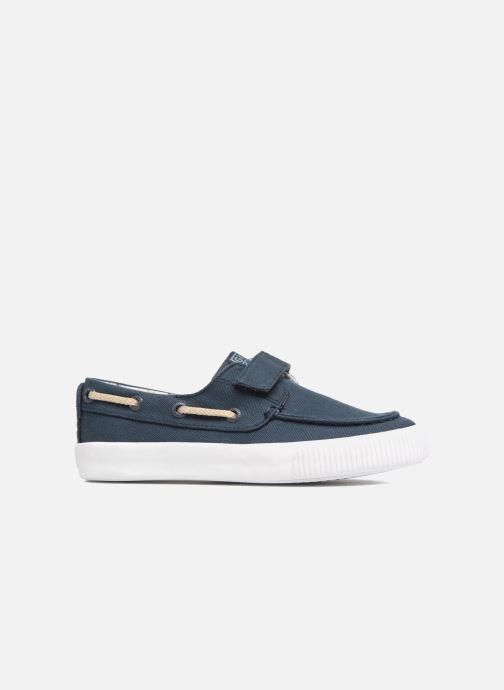 Zapatos con velcro Gioseppo Enzo Azul vistra trasera