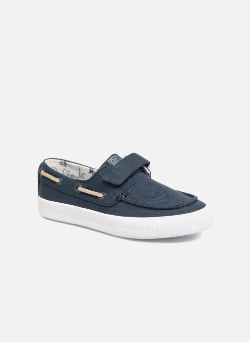 Zapatos con velcro Gioseppo Enzo Azul vista de detalle / par